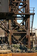 Railroad floatbridge (abandoned) at the Brooklyn Navy Yard