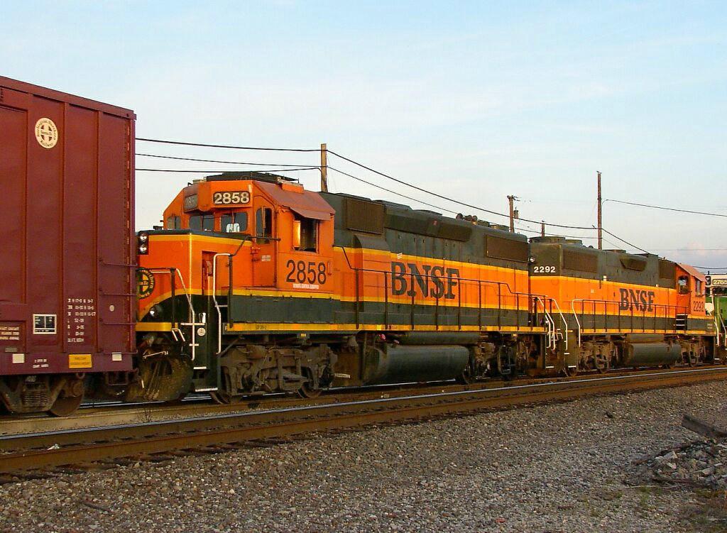"""BNSF 2858 """"REMOTE CONTROL"""""""