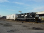 NS H-81 gets ready to start there day at Seamans Lead on NJ Transit PVL Line