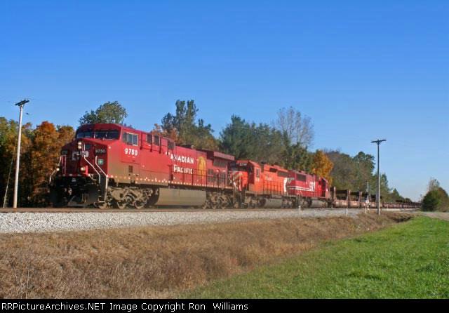 WB CP Rail on NS Wabash Line