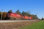 WB CP Rail on NS Wabash Line