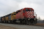 CP 5957,NREX 6497( EX ATSF) & 5062 ( EX UP), CP 5612