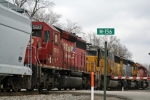CP 5957, NREX 6497 EX ATSF & 5062 EX UP, CP 5612