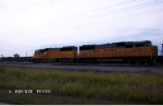 UP 2460 & UP 2326 Railtrain power at Altoona Wi