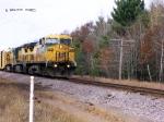 CNW 8701 eb at Oak Knoll Crossing