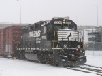 NS 5530 in the snow