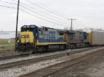 CSX 5949 & 5350 with Q326