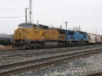 UP 9468 & CSX 7928 with Q335