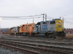 CSX 2646 with drones 9119, 9249 & 9120