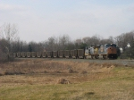 CSX 4822 & 156 leading E445