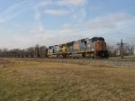 CSX 4822 & 156