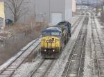 CSX 7789 & 8549 rolling through town as G010