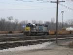 CSX 2689 at the west end of the yard