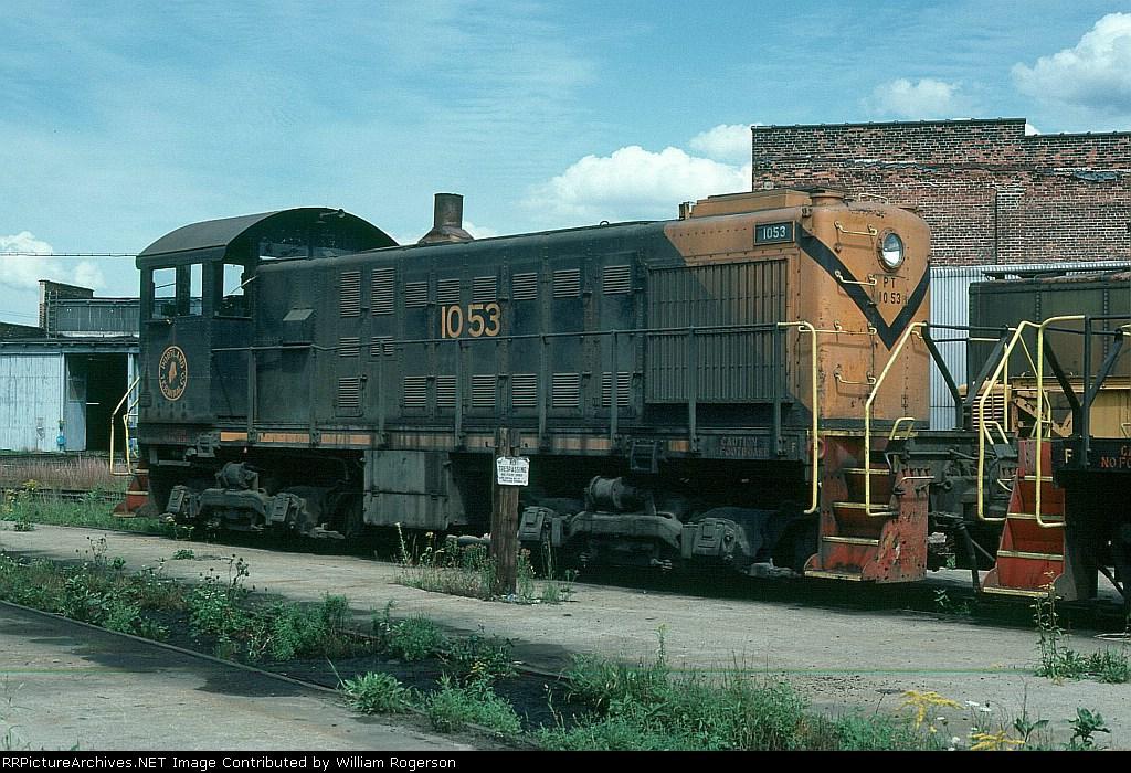 Protland Terminal Railroad (PTM) Alco S2 No. 1053