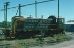 Portland Terminal Railroad (PTM) Alco S3 No. 1101