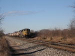 UP 4847 leads a north bound mixed manifest