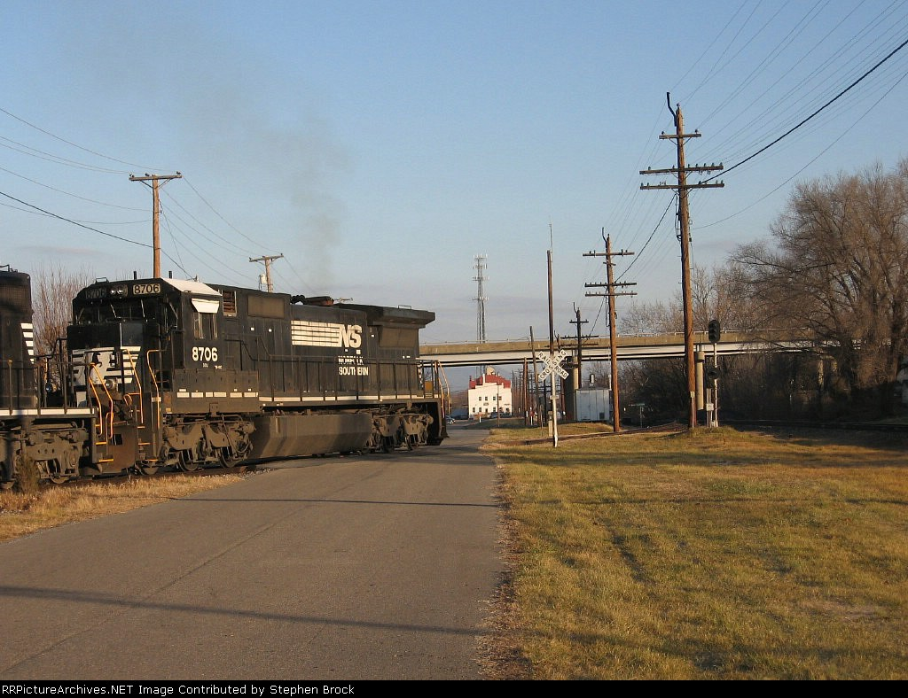 NS 8706 proceeds on to Shenandoah