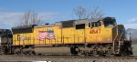 UP 4847 (SD70M)