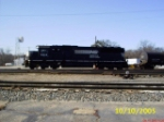 NS SD60 6612 sitting in the Yard