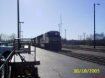 NS SD70M 2635 coming into Greenville
