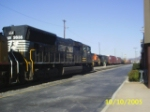 NS 2635 stopped for a Crew Change