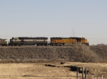 BN 9556 and BNSF 8868