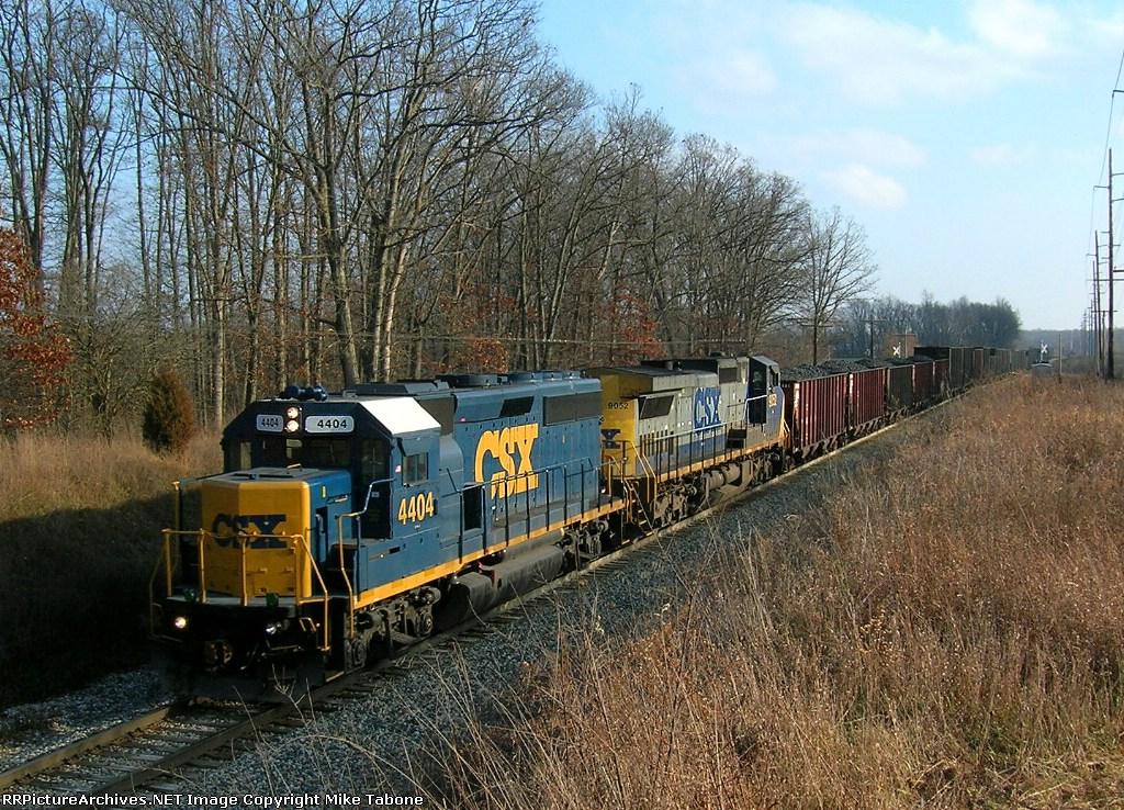 CSX 4404 & CSX 9052 on K357-13