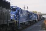 Three former Conrail four axle units