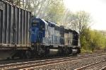 Conrail blue SD40-2