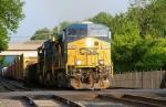 Eastbound CSX mixed freight