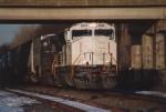 A primer Norfolk Southern SD70M