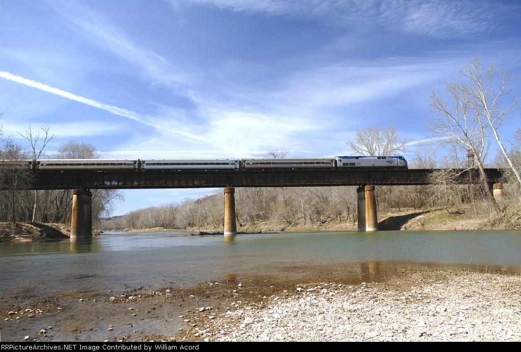 Eastbound Amtrak Ann Rutledge