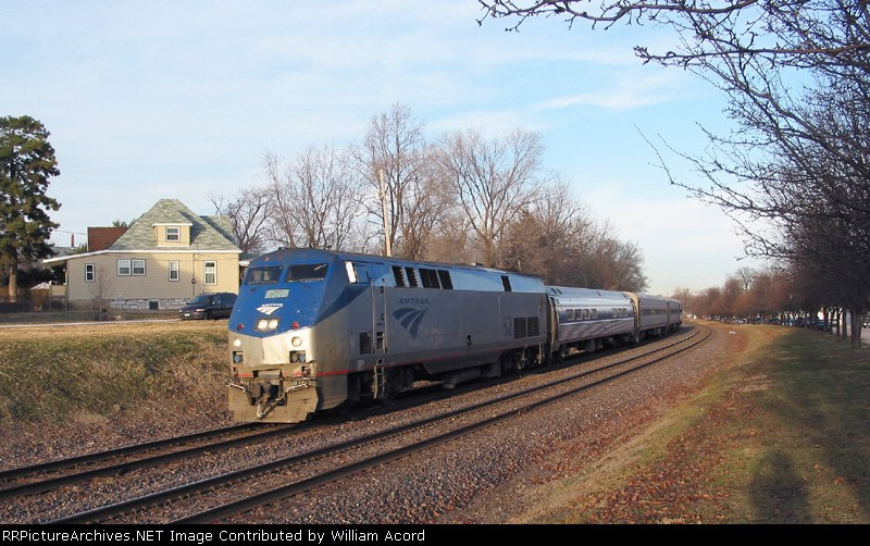 AMTK 52(Ann Rutledge) working its way westbound to Kansas City