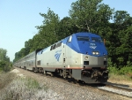 P42DC #131 leading northbound Texas Eagle