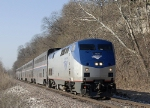 Northbound Amtrak Texas Eagle 