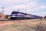 AMTK 374 leading southbound Heartland Flyer