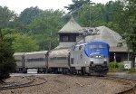 "Eastbound ""Missouri River Runner"" in Kirkwood Station  June 9, 2011"