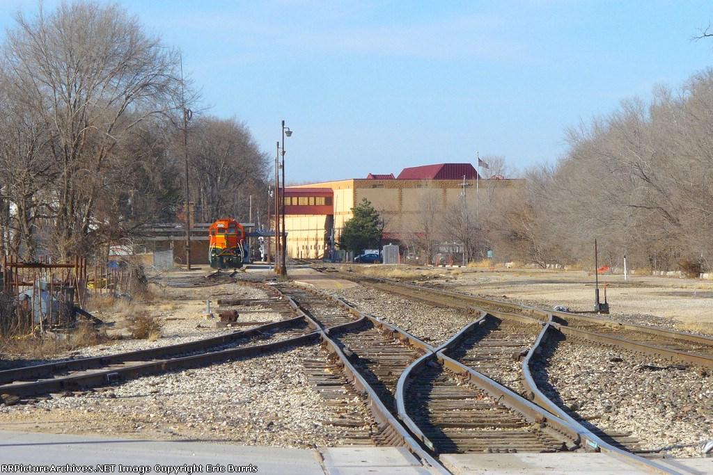 At the BNSF railroad yard