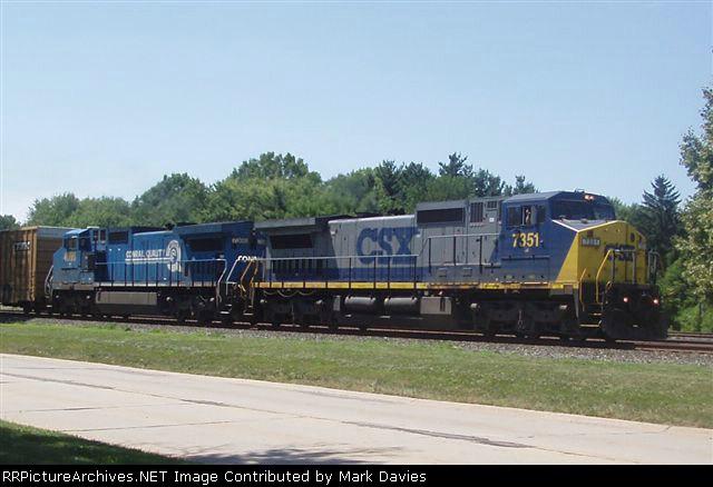 CSX 7351 + CSX 7388