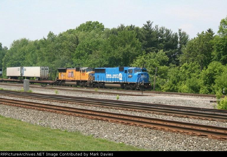 NS 6741 +UP 4784