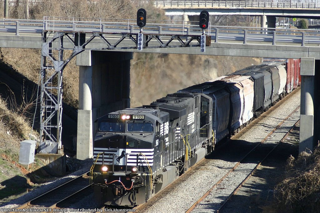 NS 159 passes through the ditch
