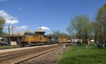 Union Pacific mixed freight