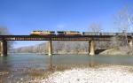 Union Pacific #7241 leading empty coal drag