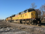 Union Pacific motive power returning for its next assignment