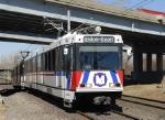 Eastbound Metrolink train