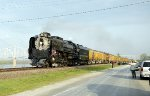 "Union Pacific #844 ""Shiloh Limited"" in Chester, Illinois"