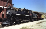 Nevada State Railroad Museum Cooke 4-4-0 Steam Locomotive