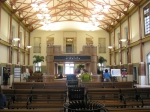 Interior of Fort Worth Intermodal Transportation Center