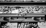 Joint between two different sizes of rail