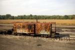 Old Chesapeake & Ohio RR caboose rusting away